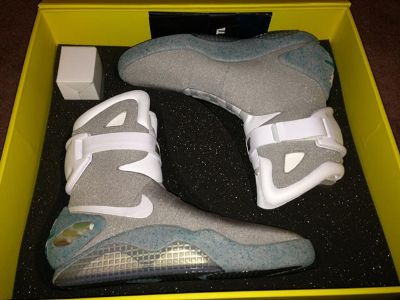 Limited Edition 2011 Nike Mag Size 11 Back To The Future  $2400