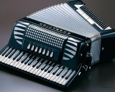 SofiaMari SM 3472 34 Piano Multi Bass Button Accordion For sale