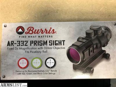For Sale: Burris AR-332