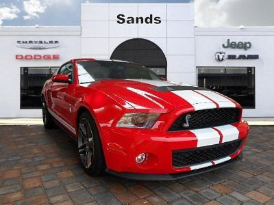 2011 Ford Mustang Shelby GT500 (Race Red)