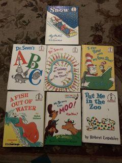 Lot of cat in the hat books