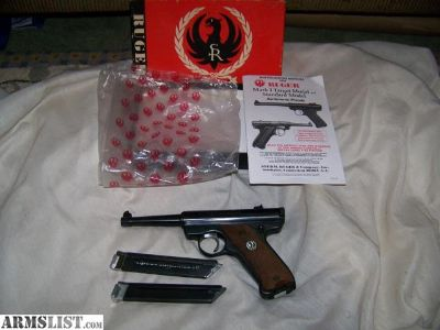 For Sale/Trade: 1968 Ruger Standard .22 Pistol, In Box