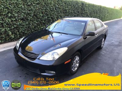 2002 Lexus ES 300 Base (Black Onyx)