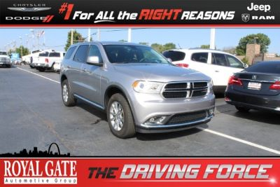 2017 Dodge Durango SXT (Billet Metallic)
