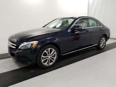 2016 Mercedes-Benz C-Class 4dr Sdn C300 Luxury 4MATIC (Black)