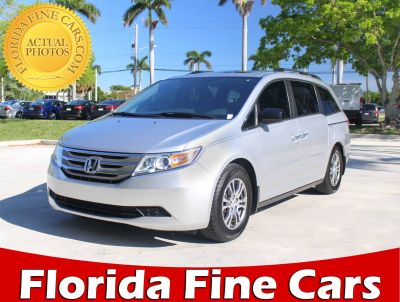 2013 Honda Odyssey EX-L w/DVD (Silver)