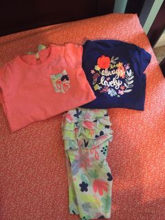 0-3 month Cat & Jack outfit