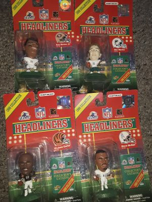 1998 football action figures make offer