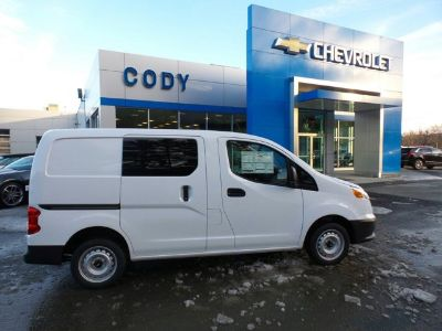 2017 Chevrolet City Express Cargo Van LS (Designer White)