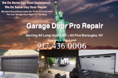 Professional garage door repair and installation service New York and Long Island
