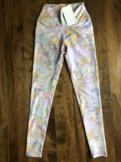 Fabletics Size XS Multi-Colored Marbled High-Waisted Legging