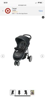 Graco Aire3 stroller. Will post actual photos soon.