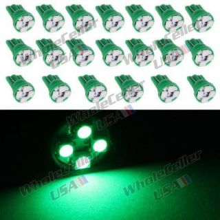 Buy 20X Green 921 T10 3528-SMD LED Light Bulb Instrument Speedometer Gauge Dash motorcycle in Milpitas, California, United States