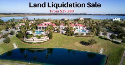 LAKEFRONT LAND FOR SALE