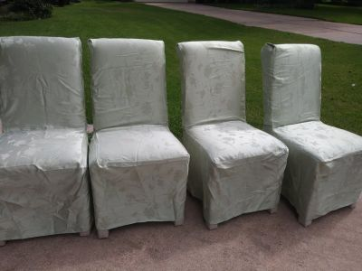 Upholstered Person's Chairs (set of 4)