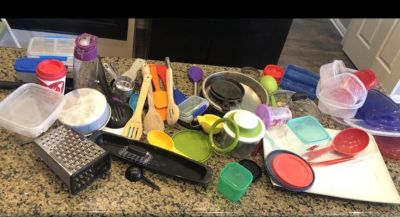 Mixed lot of kitchen stuff and toys - pickup today before 6:00pm today 6/20/19 FREE
