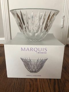 Marquis Crystal Bowl