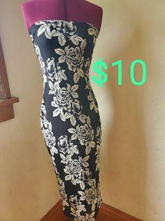 Tube-strapless stretch dress size S