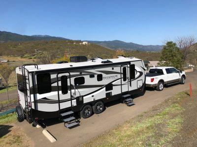 2018 Outdoors RV Timber Ridge 25RDS Titanium