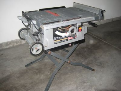 """10"""" Crafstman Portable Table Saw"""