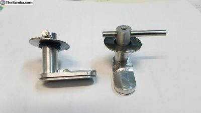Vanagon engine cover latches