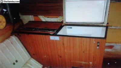 Westfalia Side 12v Refrigerator Fridge