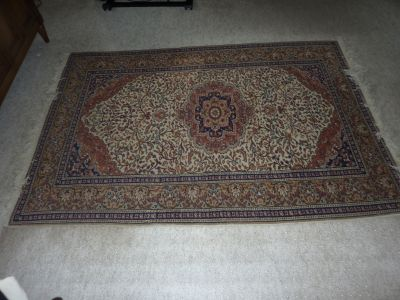 Hand Knotted Wool Oriental Rug