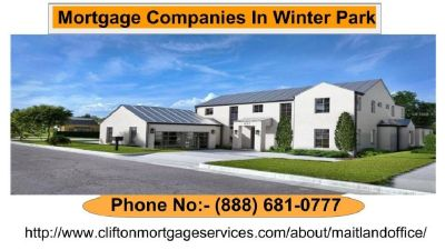 Clifton Mortgage Services | Mortgage Companies In Winter Park