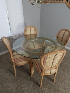 Table Set custom made by Walter E. Smith