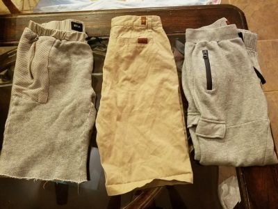 Boys 7 for all Mankind/Hudson shorts & sweats