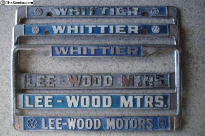 [WTB] Lee Wood Whittier plate frame wanted