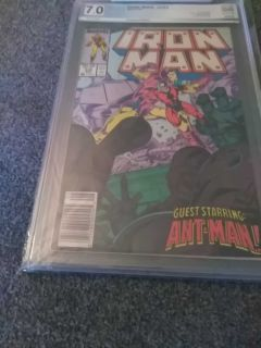Iron Man #233 Aug 1988 pgx 7.0