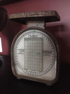 Antique working scale