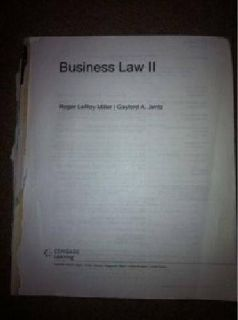 $25 Business law 2 UAA book
