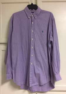 Polo Button Down Size Large. CP.