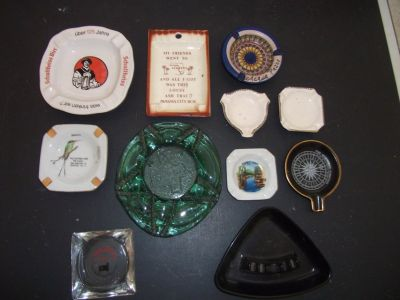 Vtg Ashtray Lot
