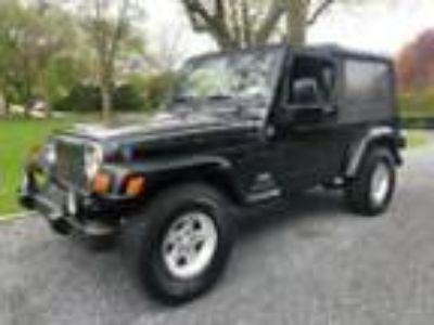2006 Jeep Wrangler Unlimited LJ Unlimited 2006 Jeep Wrangler Unlimited LJ 123484