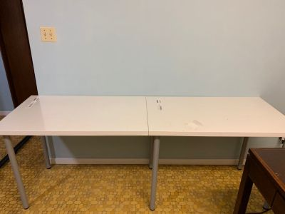 Euc IKEA table tops with legs asking $25