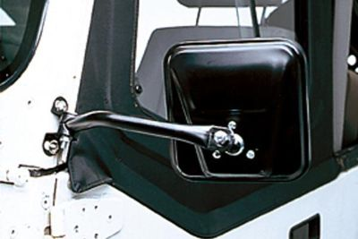 Buy Rugged Ridge 11001.08 - 97-02 Jeep Wrangler Black Side Mirrors motorcycle in Suwanee, Georgia, US, for US $39.99