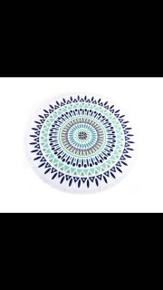 Round beach towels- adorable