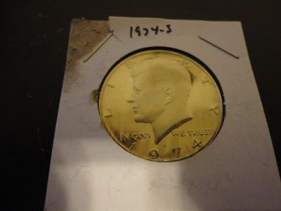 1974s kennedy half dollar brilliant uncirculated cameo proof interested text 931 218 8243