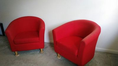 RED Club Chair for Sale