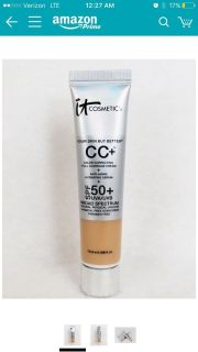 ISO light cc cream by it cosmetic