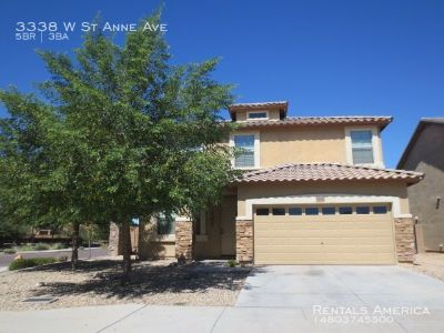 Coming Soon :Former Model 5 Bedroom 3 Bath Home w/ Loft and Upgrades Throughout!