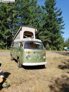1977 Westy poptop Camper