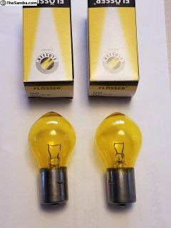 Yellow fog light bulbs for your T34