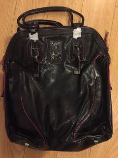 black/pink handbag new july 14 one day sale sunday