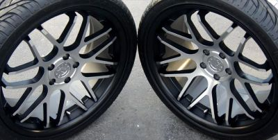 Sell Mustang Concave Wheels 20x8.5 & 20x10 & tires 2005-2013 Rims Matte Black & Mirro motorcycle in Katy, Texas, US, for US $1,174.00