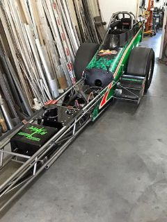 "225"" Nostalgia Top Fuel or A/Fuel Dragster Less Engine"