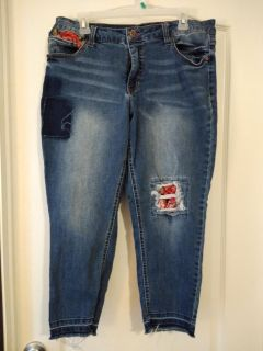Size 16 faded glory jeans